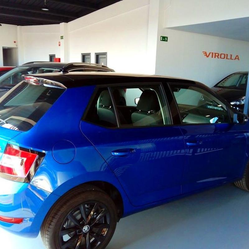 SKODA FABIA VENDIDO: servicios y vehiculos de Virolla