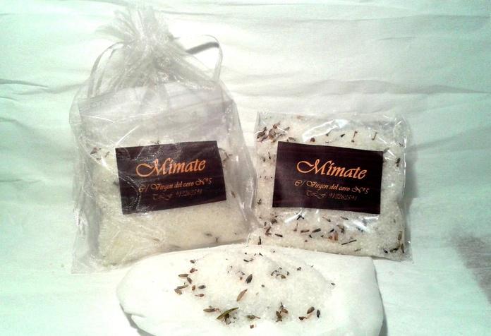 Sales de baño con lavanda , naranja dulce y camomila: Catálogo de Mímate