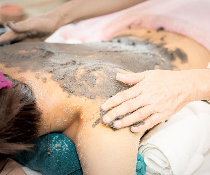 Masaje linfoenergético o detox: Servicios de Elena Tamayo Terapies