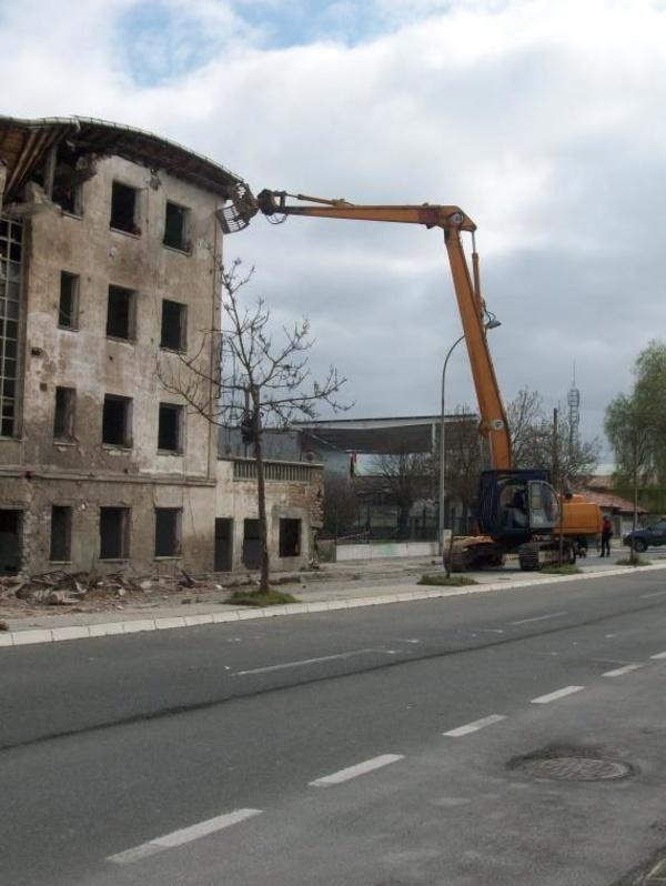 Proceso de demolición
