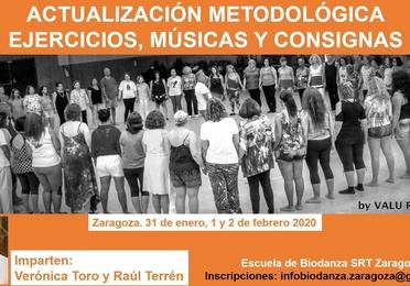 Actualización metodológica. Ejercicios, música y consignas.