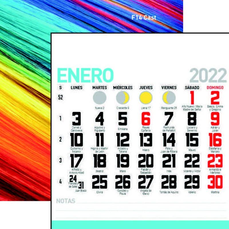 Mensual Nevera Nº 14 : Nuestros Productos de Gráficas Kalendex