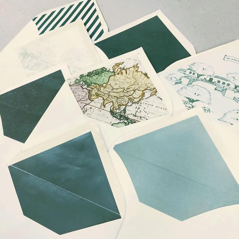 Forros para sobres de invitaciones de boda: Productos de Imprenta Meneses Gráfica Digital