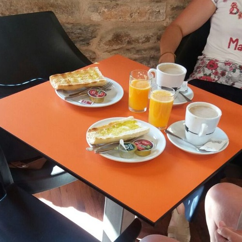 Desayunos en nuestra pastelería