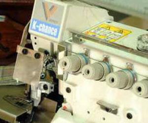 Máquinas industriales para confección