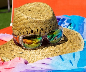 Sombreros y pareos en Mallorca