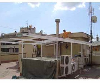 Tabiques pluviales:  Servicios de Restuc