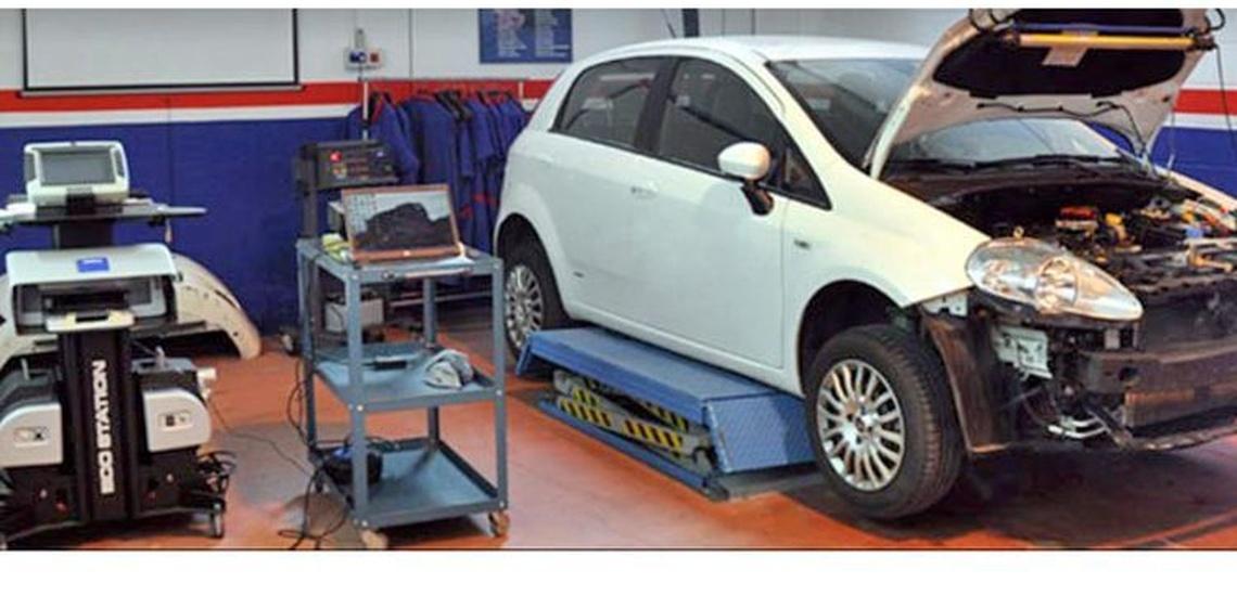 Instalaciones de Chispauto, taller mecánico en Noáin