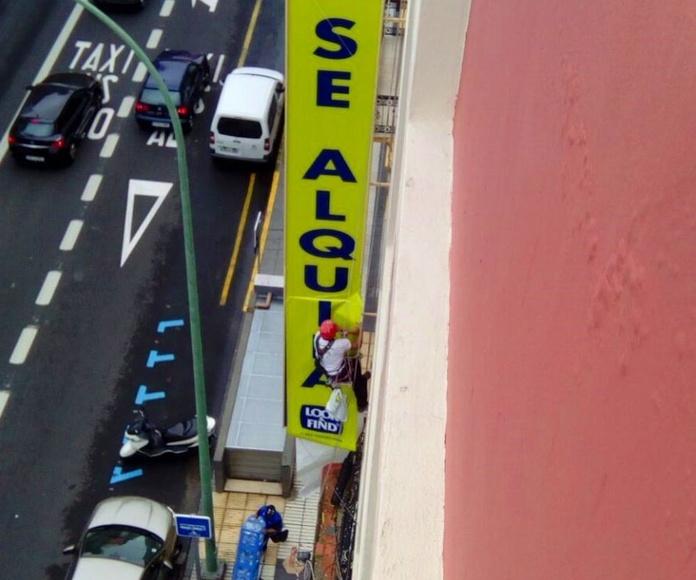 Colación de carteles.: Servicios que ofrecemos de Vertimax