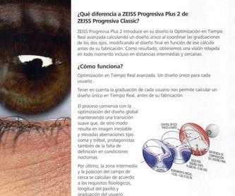 Lentes de contacto: Catálogo de Óptica Alcúdia