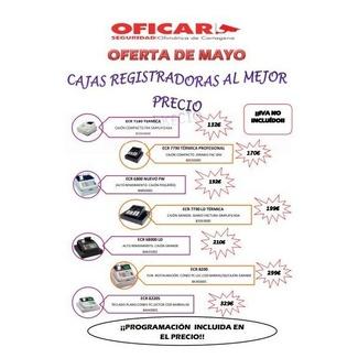 Oferta registradoras Olivetti