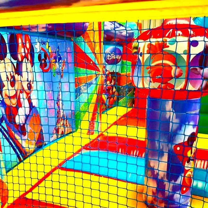 Castillo Hinchable Plataforma con tobogan 2: Catálogo de Hinchables Happy Jump