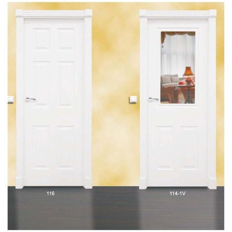 Modelo 116 Puerta lacada de calidad estándar