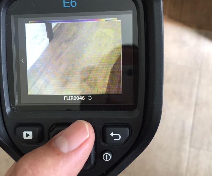 Localización de fugas con cámara térmica: Nuestros servicios de J.A. Fontaneros