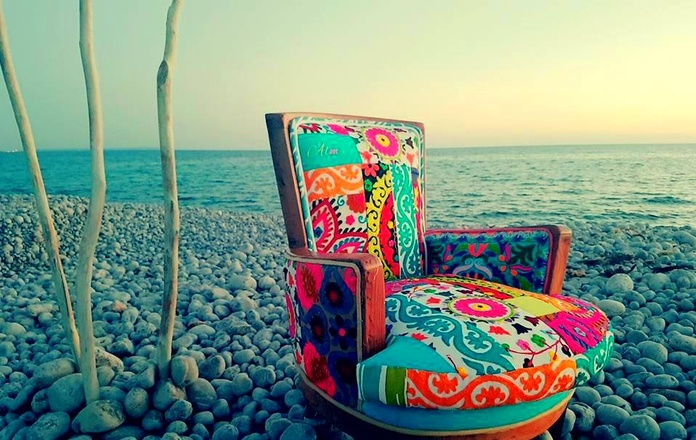 SILLON FLOWER POWER