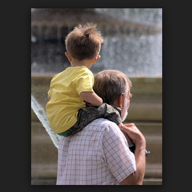 El derecho de visitas de los abuelos