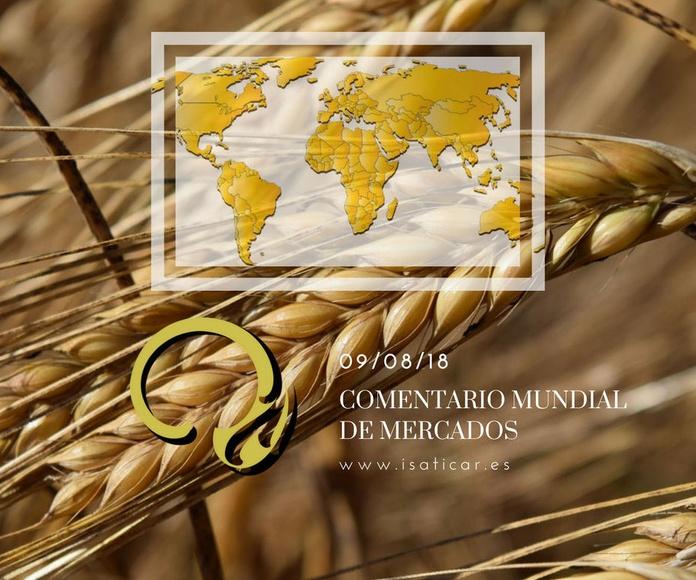 Informe internacional de mercados 09.08.18