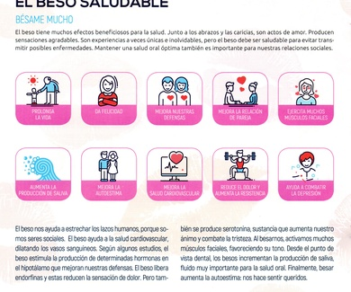 CONSEJOS DE TU DENTISTA: EL BESO SALUDABLE