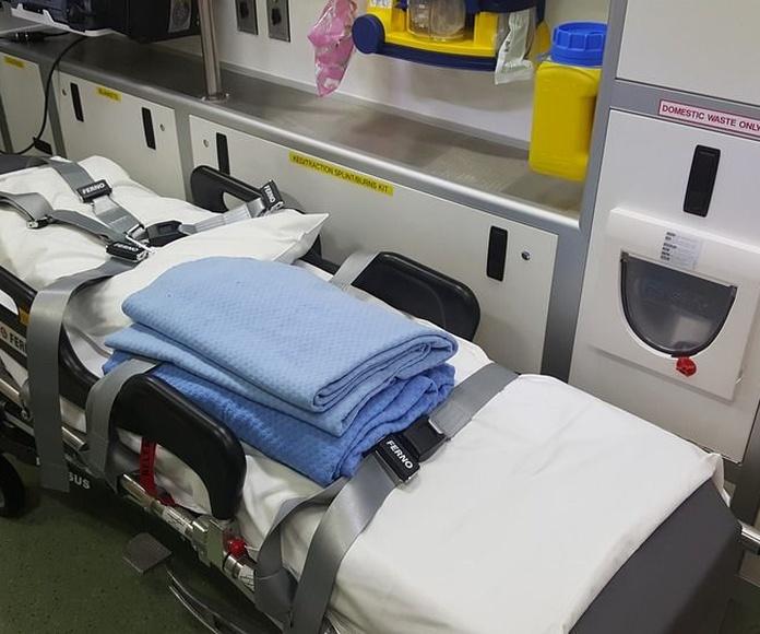 Ambulancias UVI móvil: Servicios de Ambulancias La Cinta