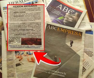Palazón Abogados es hoy noticia en el diario ABC
