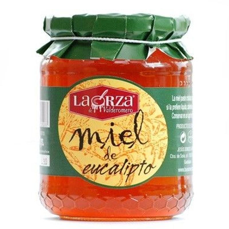 """Miel de eucalipto """"La Orza"""" 500 grs: Productos. Acceso On Line de El Colmenar de Valderromero"""