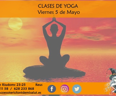 Clase de Yoga (Reus) (Raco Esoteric)