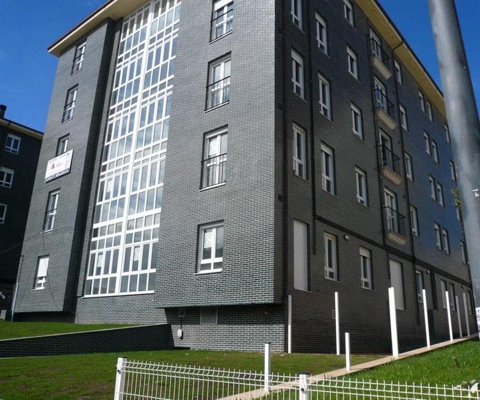 Viviendas de 2,3 dormitorios, Residencial Alborada, Luanco, Construcciones Cardin y Luengo