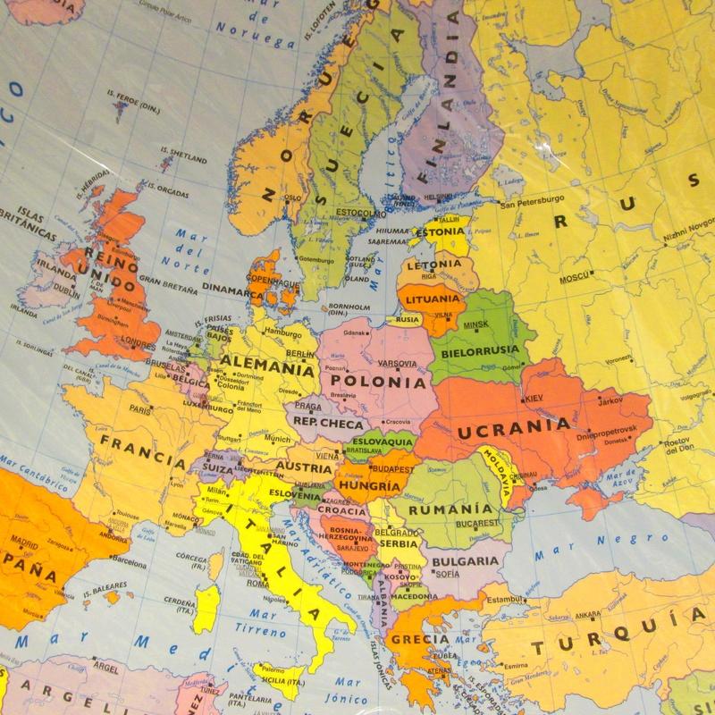 MAPA DE EUROPA. MINIMURAL