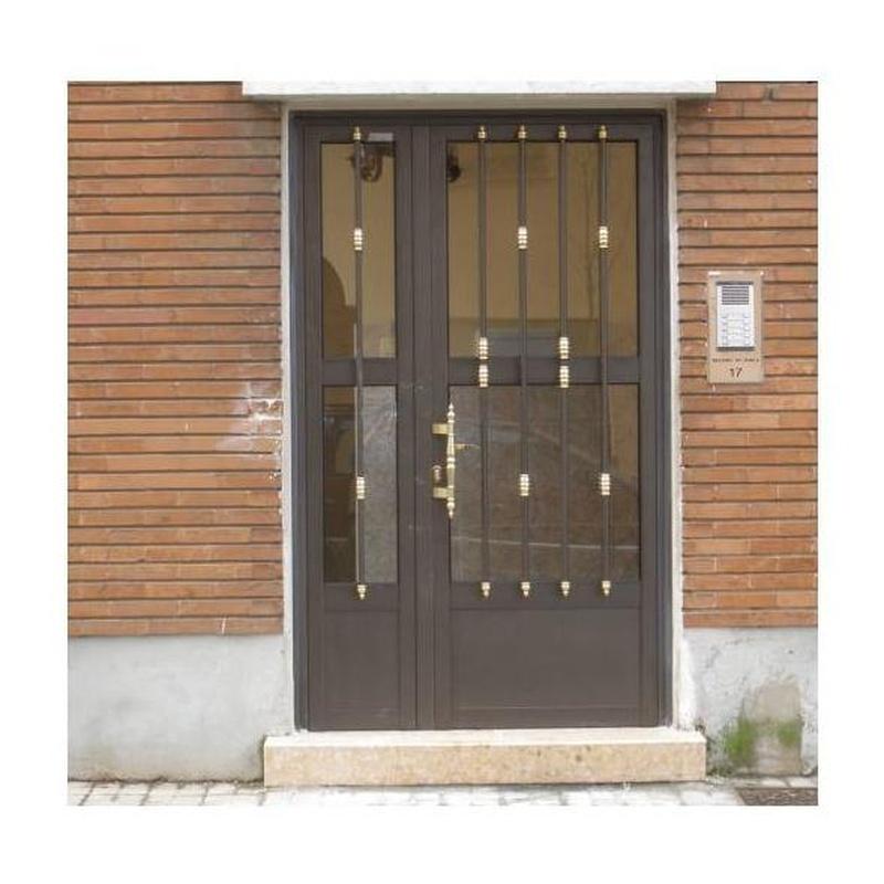 Puertas Comunidad: Productos y Servicios de Aluminios Paules