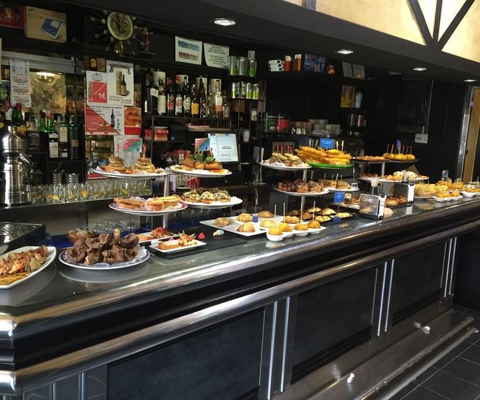 Especialidades: Especialidades de Bar Restaurante El Túnel