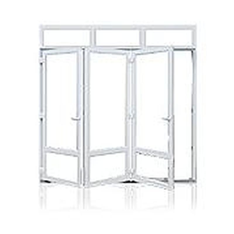 Corredera plegable: Servicios de Aluminios Alunoe