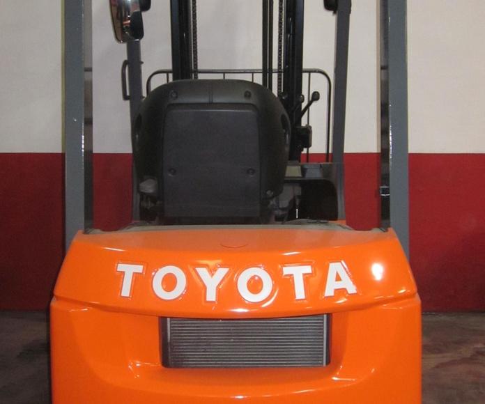 Toyota 7-FD-15: Catálogo de Intermástil, S.A.