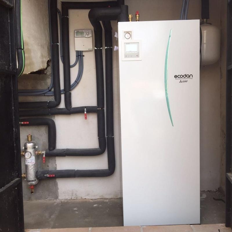 Aerotermia+radiadores: Productos y Servicios de Intecser Clima