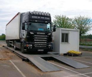 Pesaje de camiones