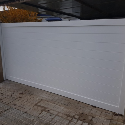 Presupuestos puerta corredera de aluminio Huelva