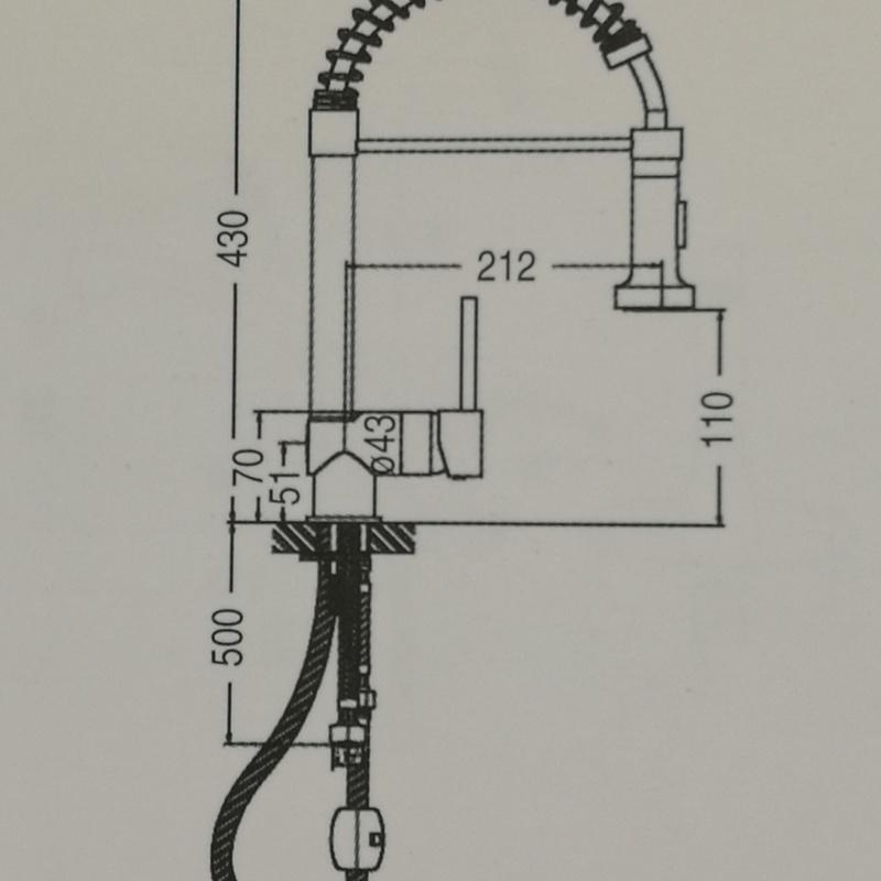 Grifo fregadero chef: Catálogo de apluscocinas
