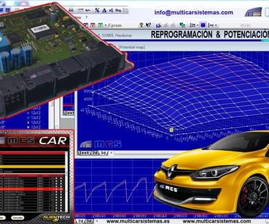 Reprogramación de Centralitas ECU motor para potenciar vehículos