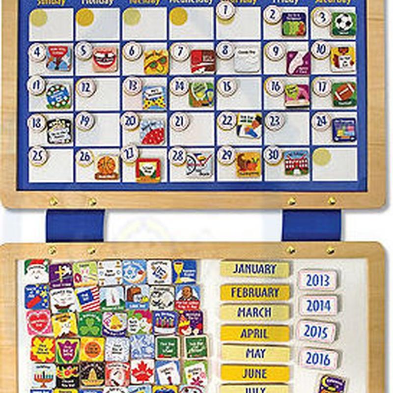 Magnetic Calendar. CALENDARIO MAGNÉTICO