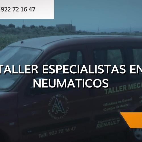 Mecánica rápida en Tenerife | Taller de mecánica Antonio Álvarez