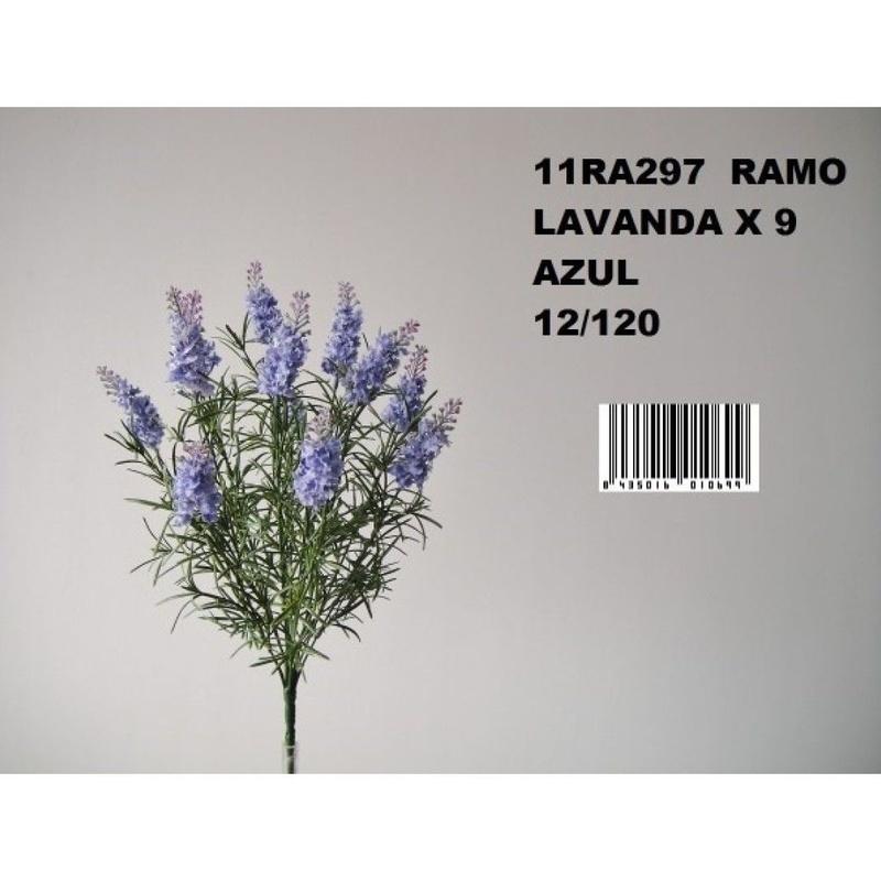MATA LAVANDA X9. COLOR:AZUL REF.:11RA297 AZU PRECIO:3,60 €