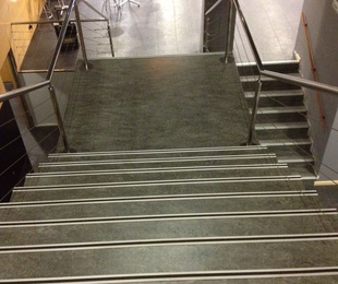 Revestimiento de escaleras de PVC