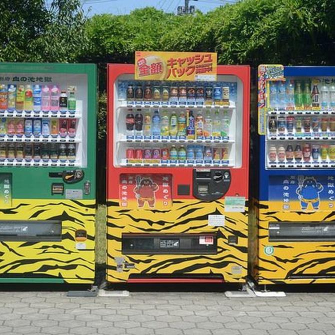 Breve historia de las máquinas expendedoras