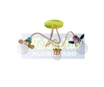 Base de 3 tomas con interruptores independientes.: Productos de Mercurio Alumbrado