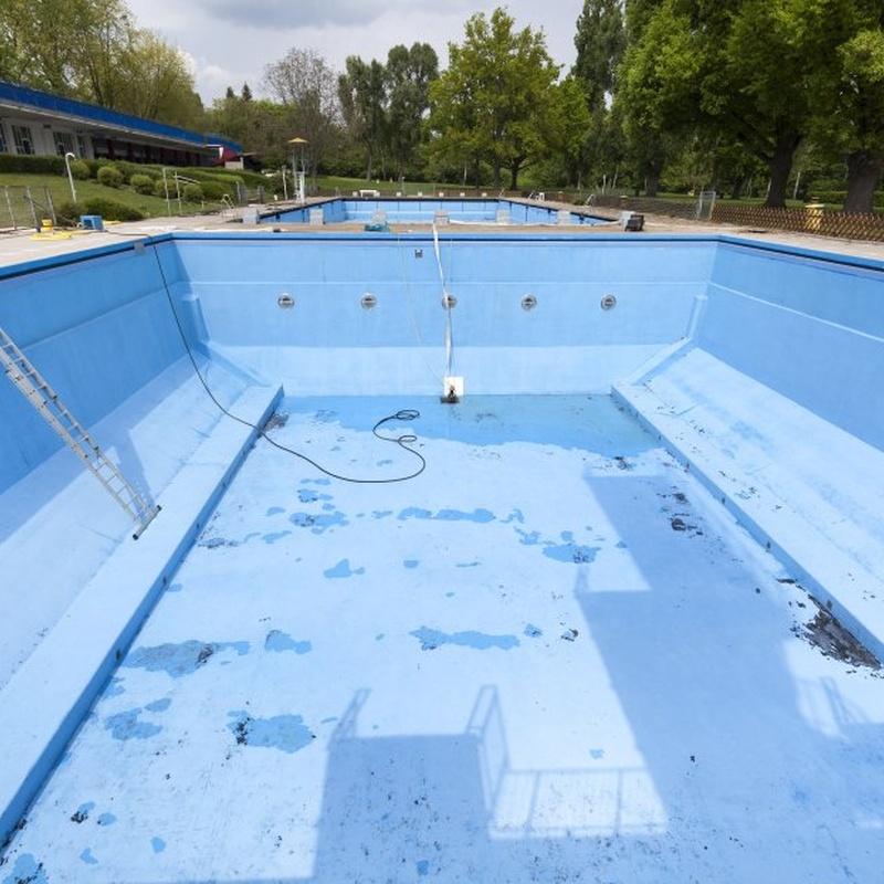 Limpieza piscinas: Servicios de Hermanos Porto de Paula
