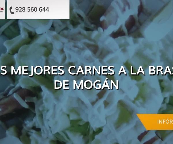 Carnes al grill en Mogán - Trébol Restaurante Pizzería