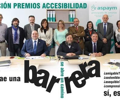 Fallados los premios de la 8 edición Premios a la Accesibilidad 2015 Aspaym Principado de Asturias
