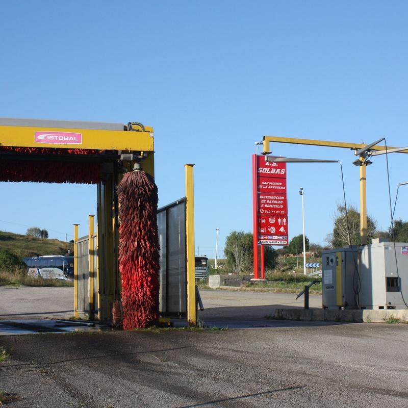 Lavado automático. Estación de Servicio Solbas. San Vicente de la Barquera Cantabria