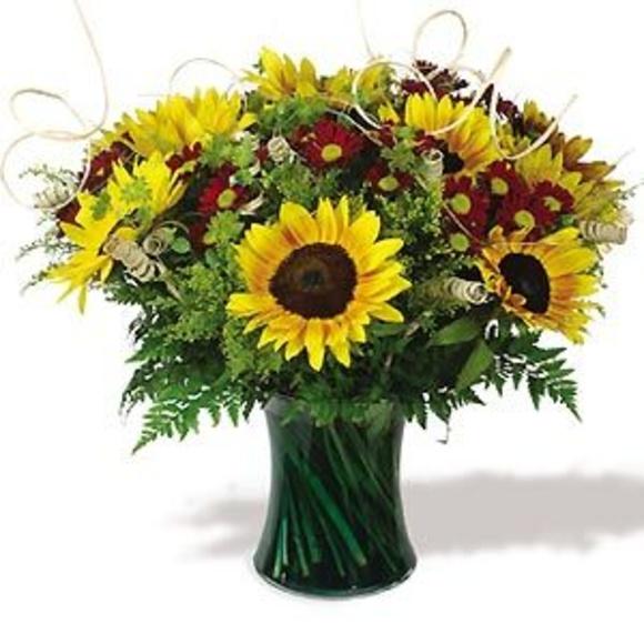 Bouquet de girasoles: Catálogo de flores y plantas de Floristería Pétalos