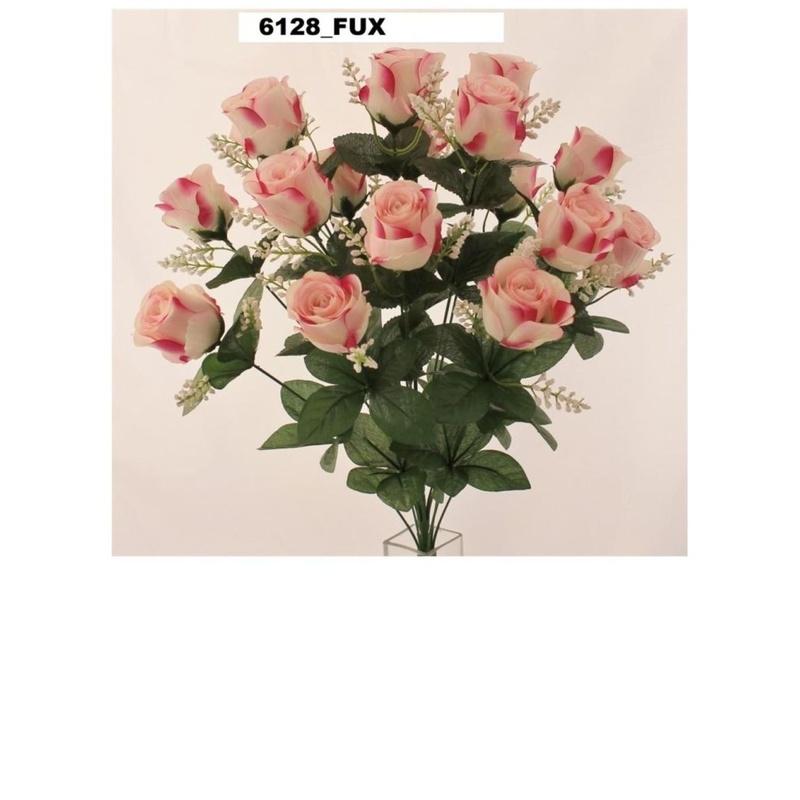 POMO CAPULLO REDONDO X 18. COLOR:ROSA REF.:6128 PRECIO:5,50 €