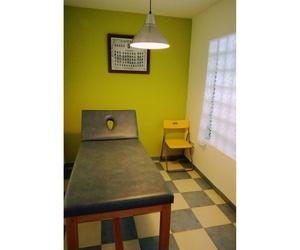 Interior de nuestra clínica de fisioterapia en Méntrida